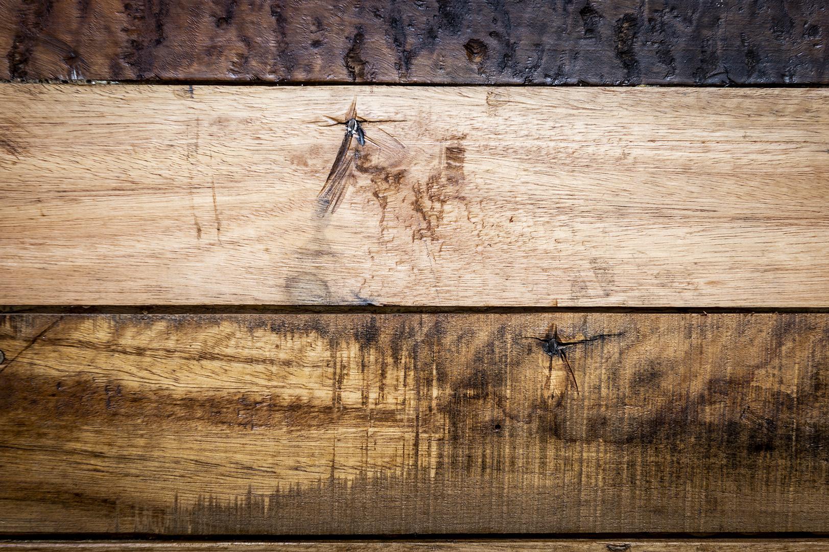 La madera crea un espacio acogedor